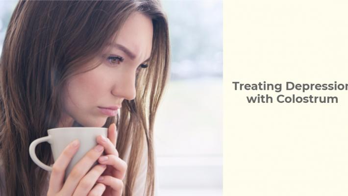 Using Colostrum to Treat Depression