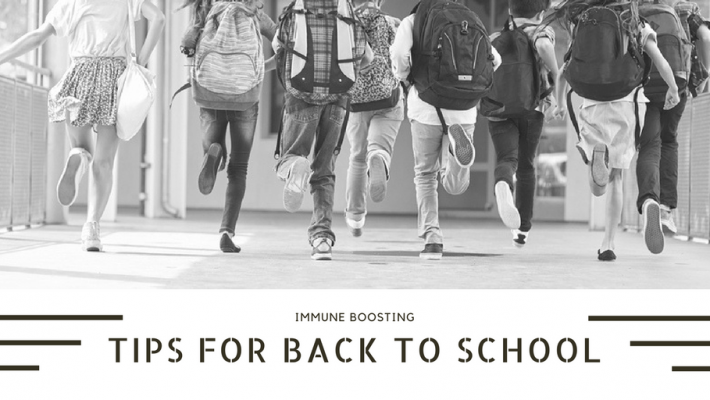 Immune-Boosting Tips for Back to School