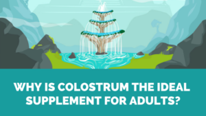 colostrum slows down aging